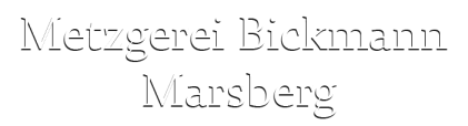 Metzgerei Bickmann Marsberg Logo